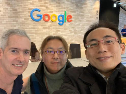 渋谷ストリーム 5F Google エントランス: Alberto と