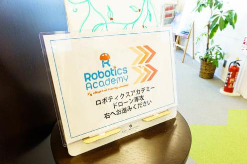Robotics Academy 右へお進みください