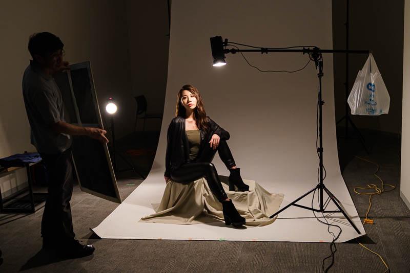 スタジオライティングの例